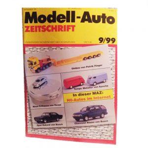 Modell-Auto Zeitschriften-Sammlung 1999