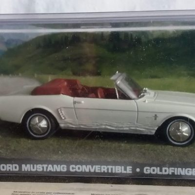 Ford Mustang Convertible -Goldfinger-James Bond