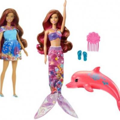 Mattel Barbie Magie der Delfine - Meerjungfra