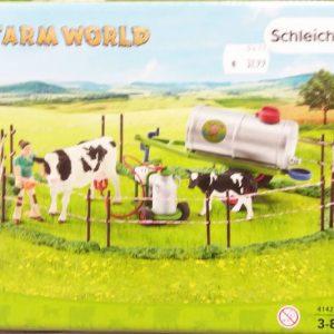Schleich 41428 Kuhfamilie auf der Weide