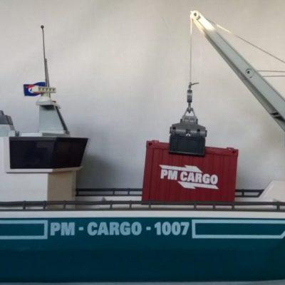 Containerschiff von Playmobil